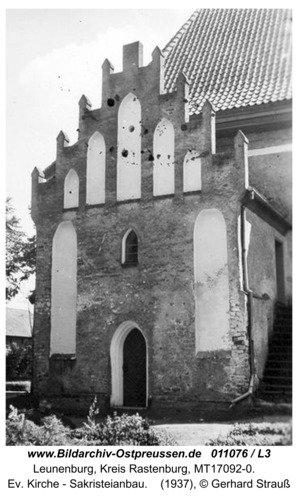 Leunenburg, Ev. Kirche - Sakristeianbau