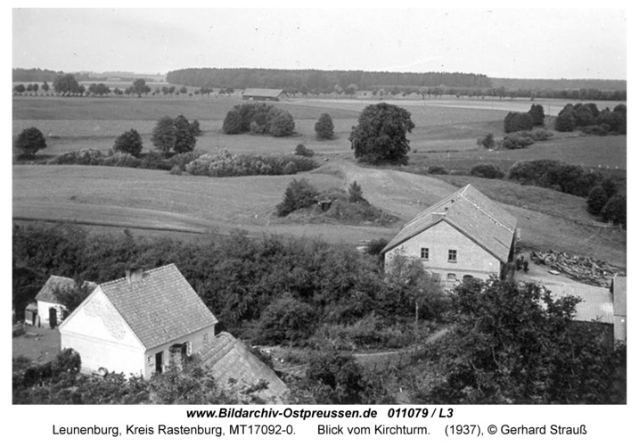 Leunenburg, Blick vom Kirchturm