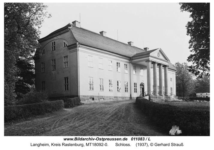 Langheim, Schloss