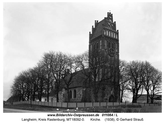 Langheim, Kirche