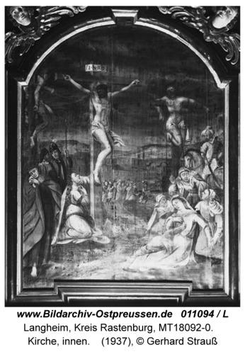 Langheim, Kirche, innen, Altar