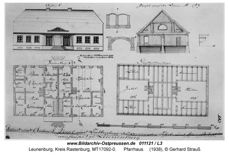 Leunenburg, Pfarrhaus