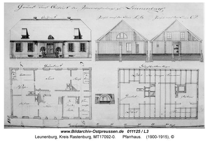 Leunenburg, Schul- und Kantorhaus