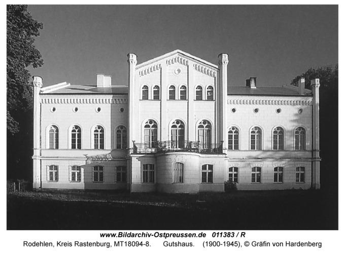 Rodehlen, Gutshaus, Gartenseite