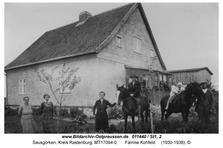 Sausgörken, Familie Kohfeld