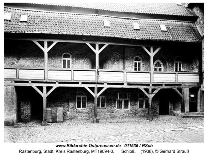 Rastenburg, Schloß