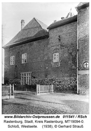 Rastenburg, Schloß, Westseite