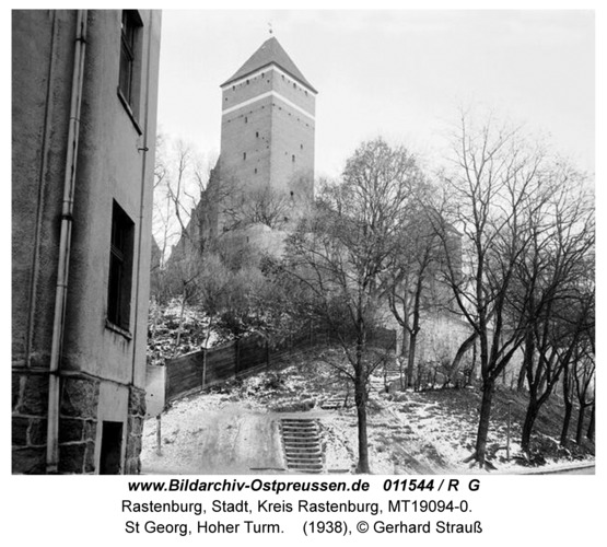 Rastenburg, St Georg, Hoher Turm