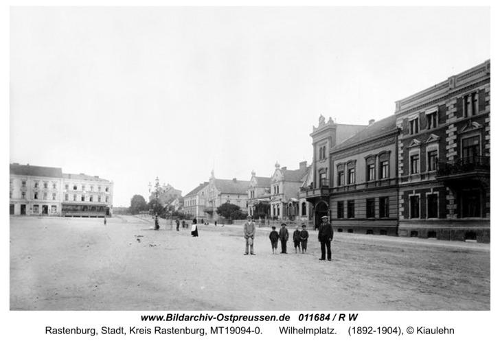 Rastenburg, Wilhelmplatz