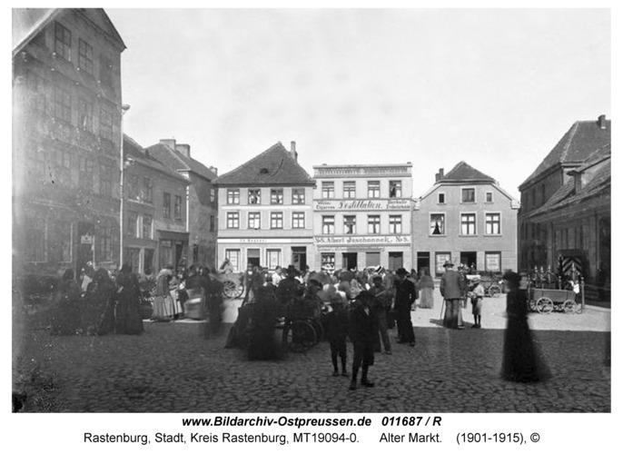 Rastenburg, Alter Markt