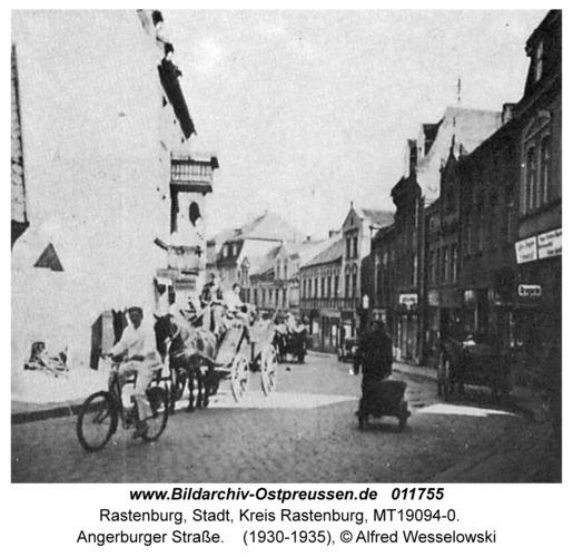 Rastenburg, Angerburger Straße