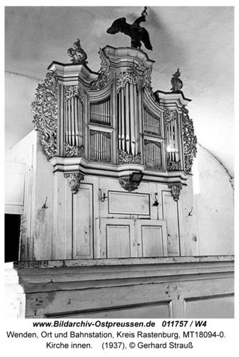 Wenden, Kirche innen