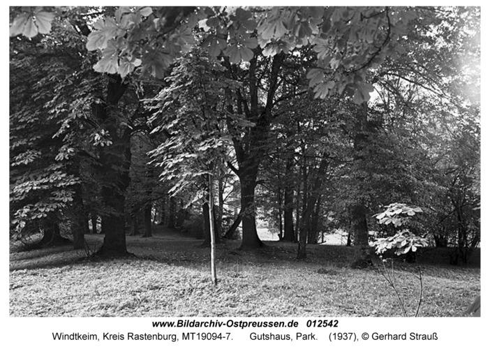 Windtkeim, Gutshaus, Park