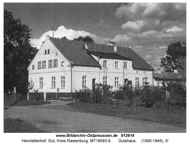 Henriettenhof, Gutshaus