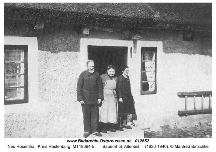 Neu Rosenthal, Bauernhof, Altenteil