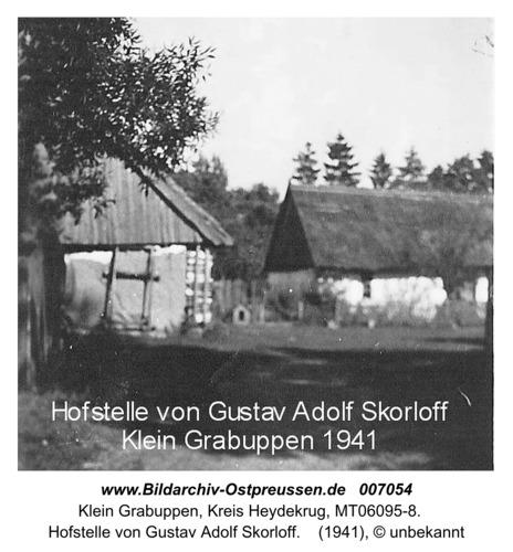 Hofstelle von Gustav Adolf Skorloff in Klein Grabuppen 1941