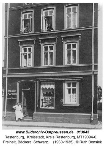 Rastenburg, Freiheit, Bäckerei Schwarz