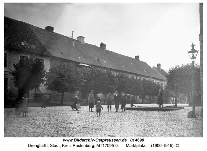 Drengfurt, Marktplatz
