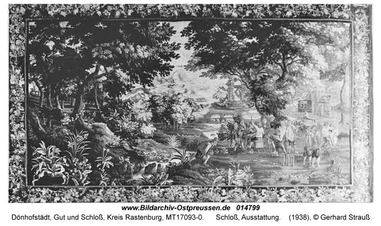 Dönhofstädt, Schloß, Ausstattung