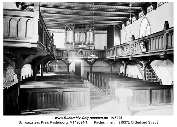 Schwarzstein, Kirche, innen