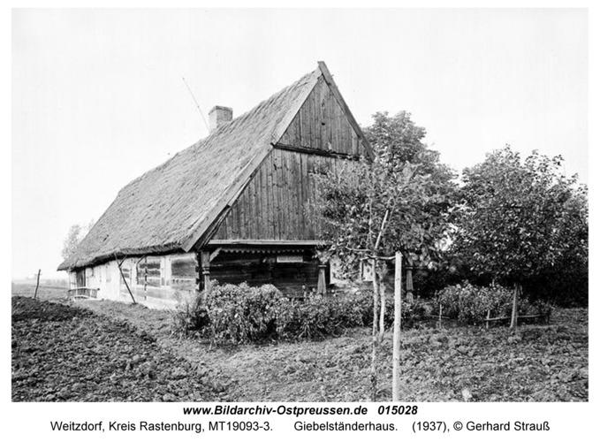 Weitzdorf, Giebelständerhaus