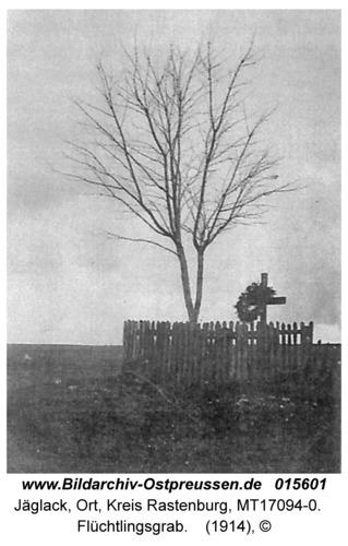 Jäglack, Flüchtlingsgrab