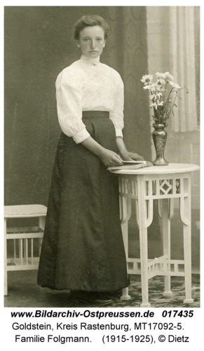 Goldstein, Familie Folgmann