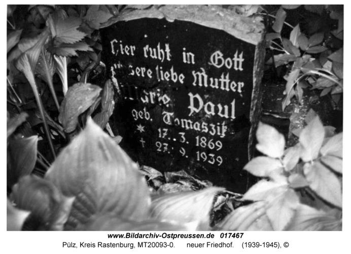 Pülz, neuer Friedhof