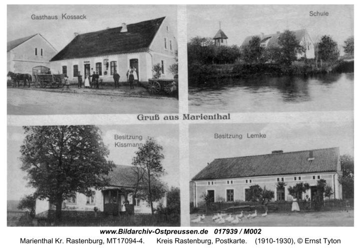 Marienthal, Postkarte