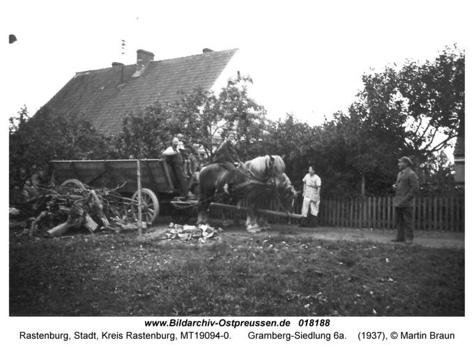 Rastenburg, Gramberg-Siedlung 6a
