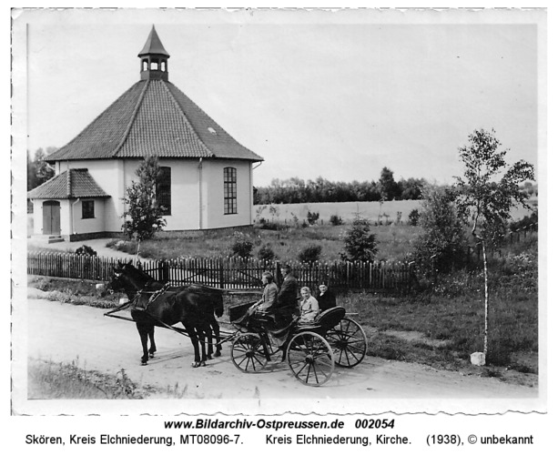 Skören, Kreis Elchniederung, Kirche