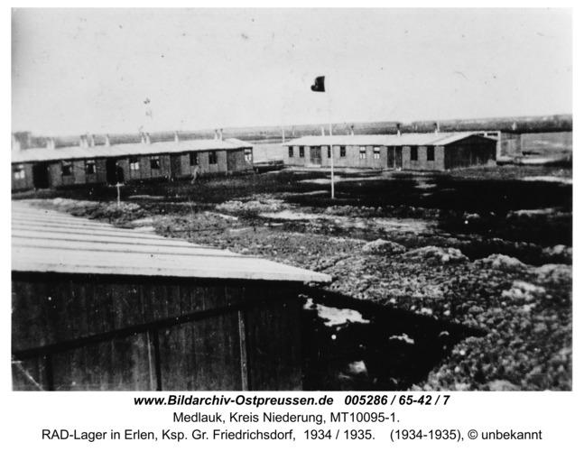 Franzrode, RAD-Lager in Erlen, Ksp. Gr. Friedrichsdorf,  1934 / 1935