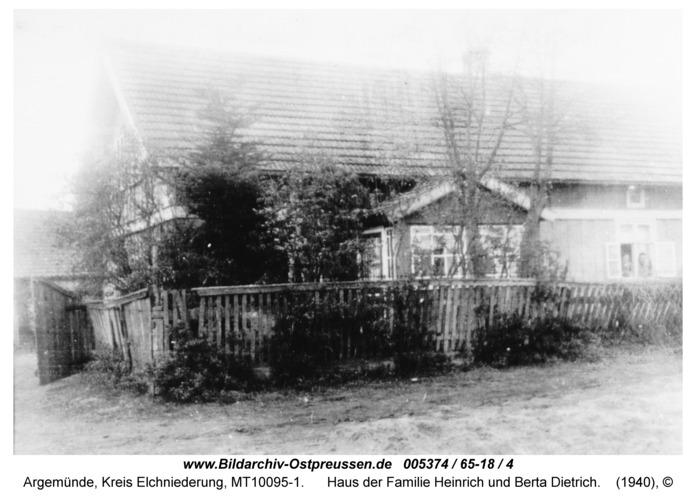 Argemünde, Haus der Familie Heinrich und Berta Dietrich