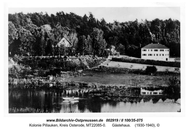 Kolonie Pillauken, Landschaft mit Gaststätte