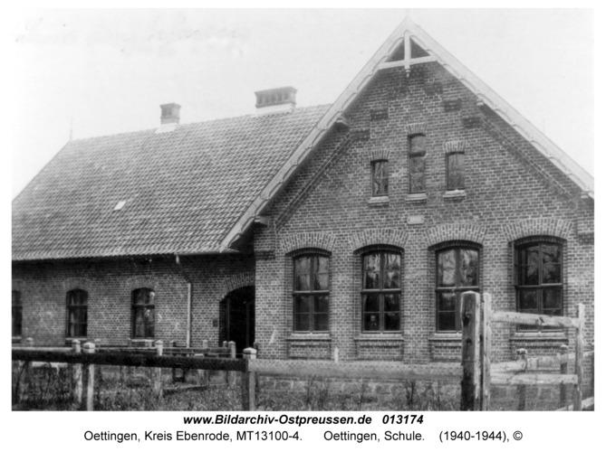 Groß Trakehnen, Oettingen, Schule
