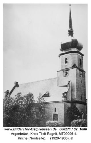 Argenbrück, Kirche (Nordseite)