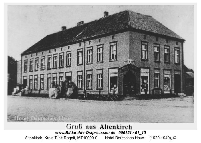 Altenkirch, Hotel Deutsches Haus