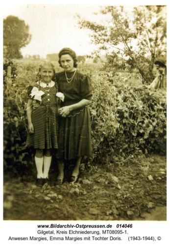 Gilgetal, Anwesen Margies, Emma Margies mit Tochter Doris