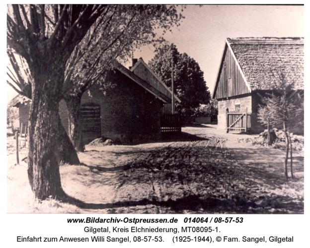 Gilgetal 53, Einfahrt zum Anwesen Willi Sangel, 08-57-53