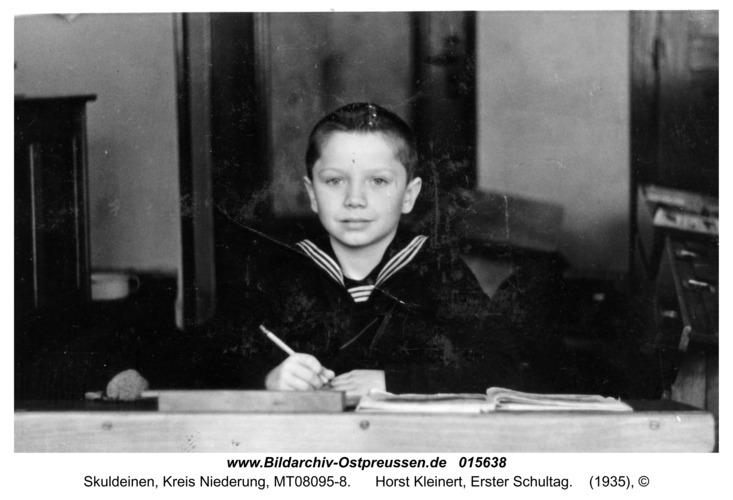 Skuldeinen, Horst Kleinert, Erster Schultag