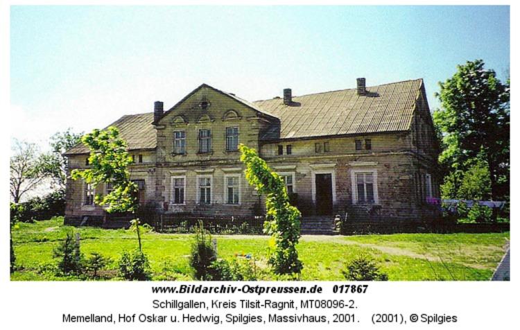 Schillgallen, Memelland, Hof Oskar u. Hedwig, Spilgies, Massivhaus, 2001