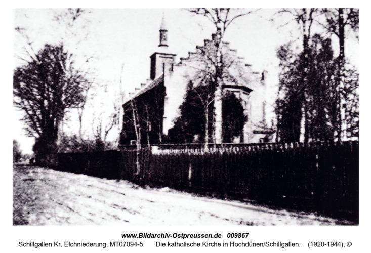 Die katholische Kirche in Hochdünen/Schillgallen