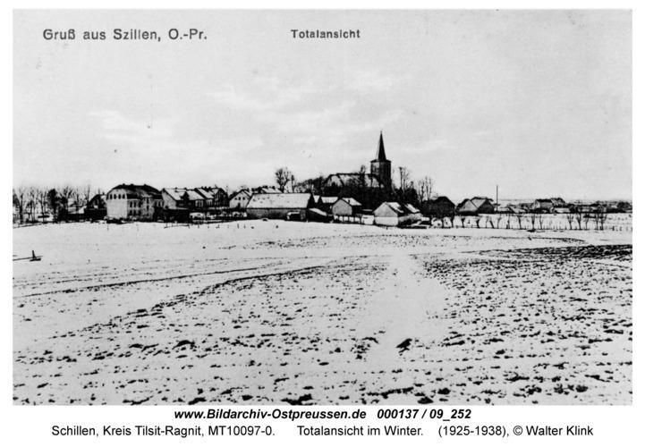 Schillen, Totalansicht im Winter