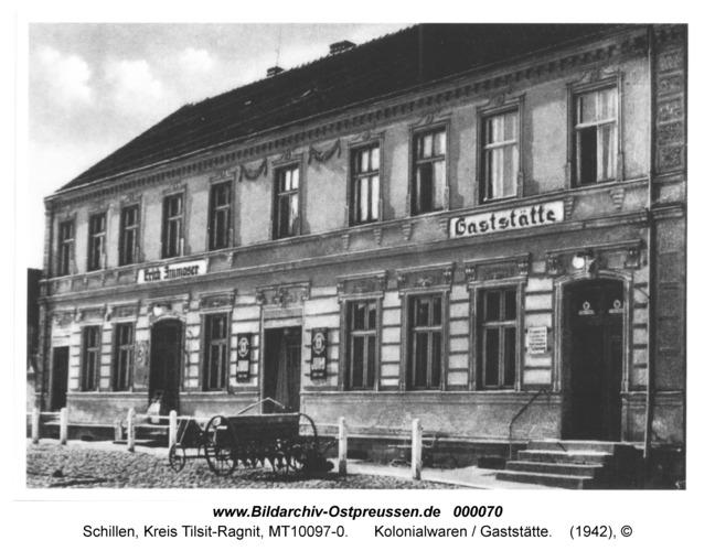 Schillen, Haus Ammoser, Kolonialwaren / Gaststätte