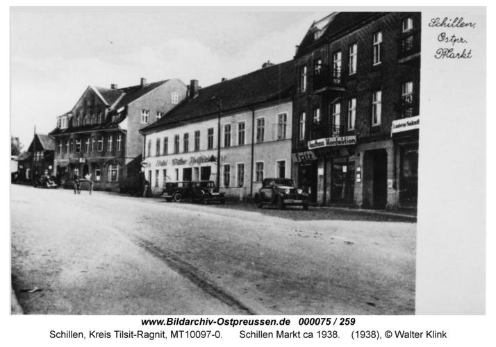 Schillen, Markt ca 1938