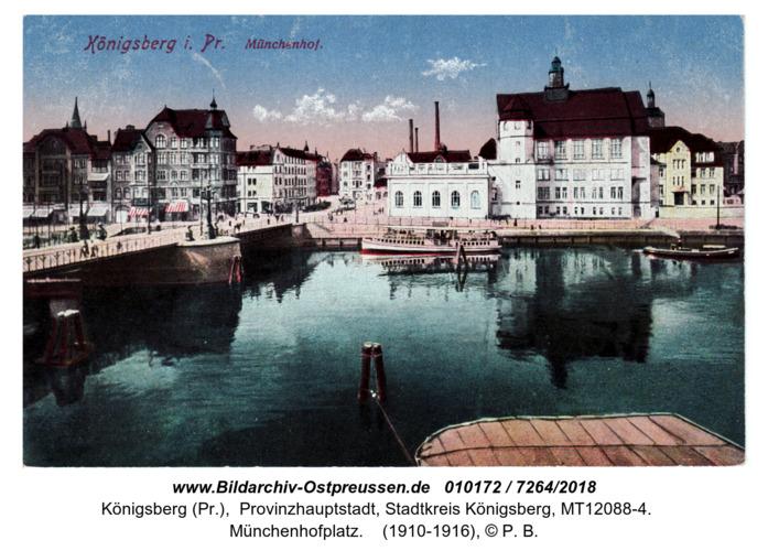 Königsberg mit Münchenhof 1916