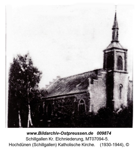 Hochdünen (Schillgallen) Katholische Kirche