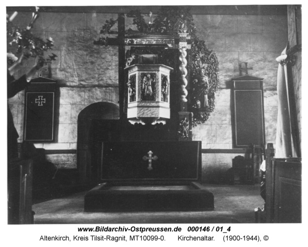 Altenkirch, Kirchenaltar