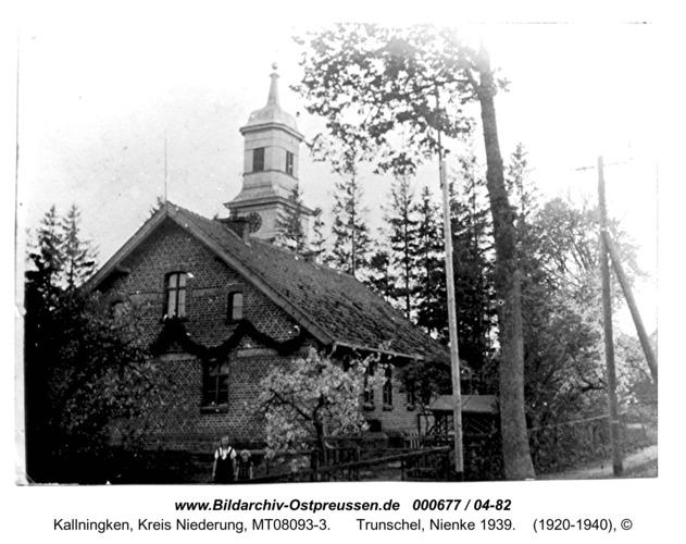 Herdenau - Postlerhaus. Hier wohnten die Familien Sahmel, Trunschel, Nienke 1939