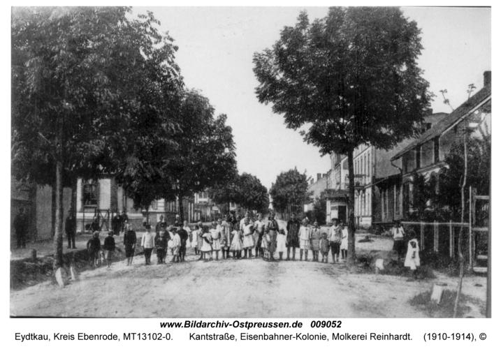 Eydtkau, Kantstraße, Eisenbahner-Kolonie, Molkerei Reinhardt